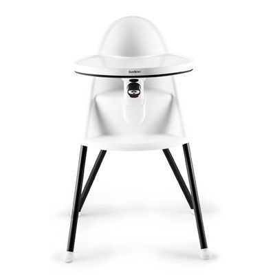Babybjorn Ergonomic High Chair Color White 067021us