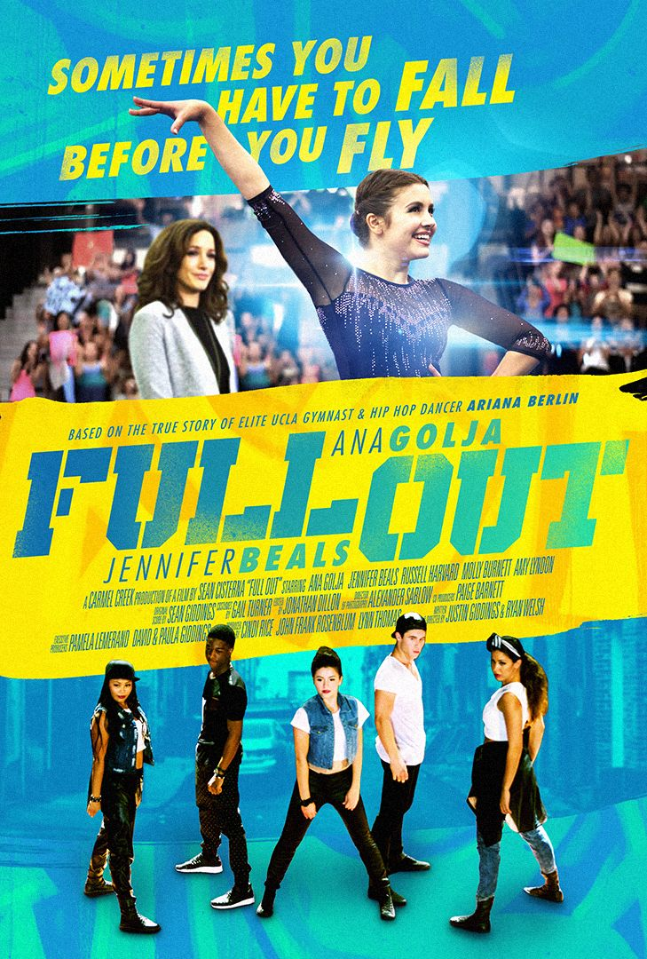 Full Out Movie Poster By Chargefield #graphicdesign #design #movie