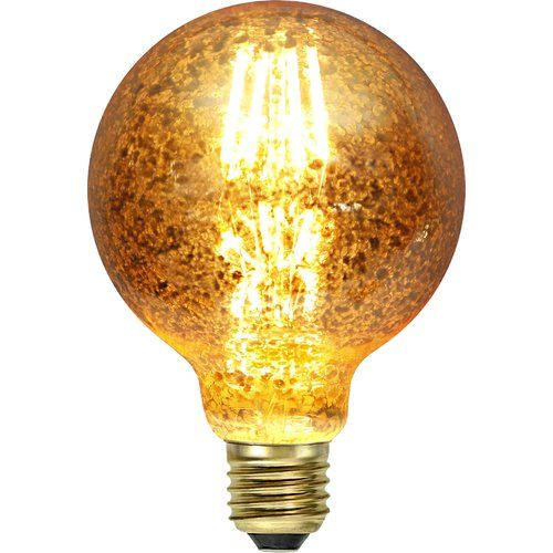 World Menagerie 4w E27 Led Vintage Edison Light Bulb Amber