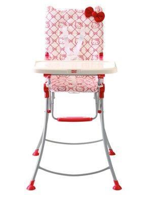 Hello Kitty My First Hello Kitty Folding Highchair b7c53116fa