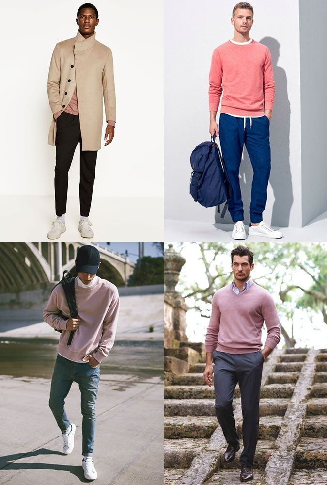 a252e8cf4a3f Men's Pink Outfit Inspiration Lookbook   moda man   Fashion, Mens ...