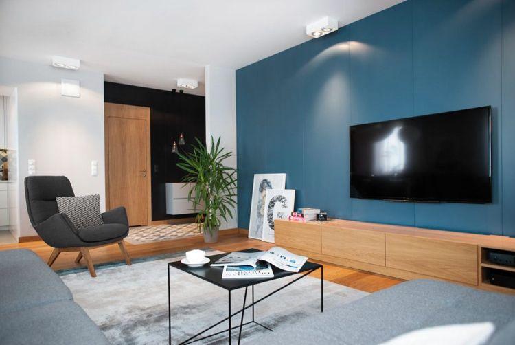 Farbe Grau Für Möbel Im Modernen Wohnzimmer