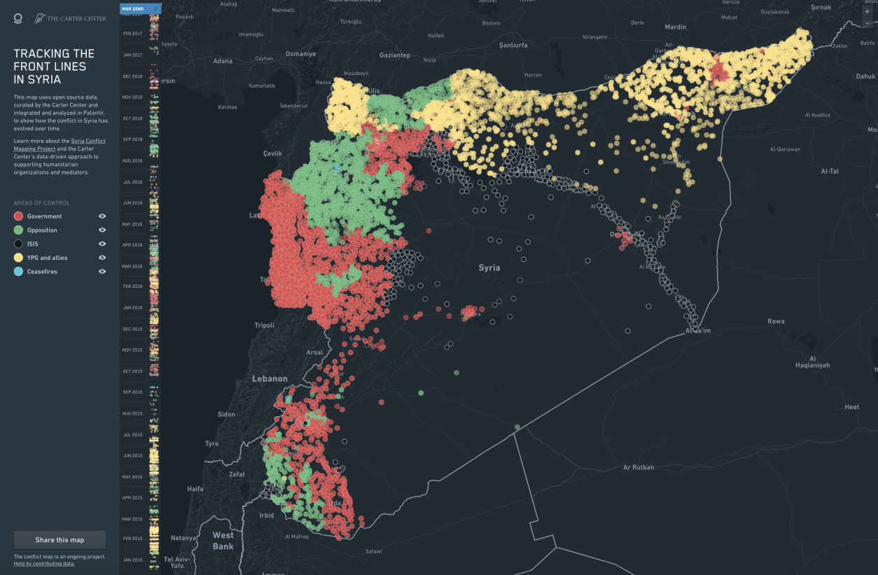 Mapping Syria | geographical imaginations | Map on