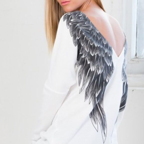 Ressurecticted Angel , Gorgeous Shirt No Words for this shirt...... Tops Tees - Long Sleeve