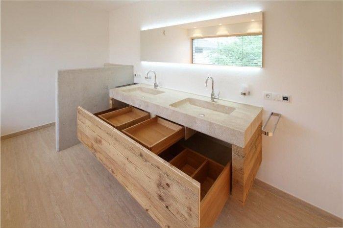 Badezimmermöbel Altholz