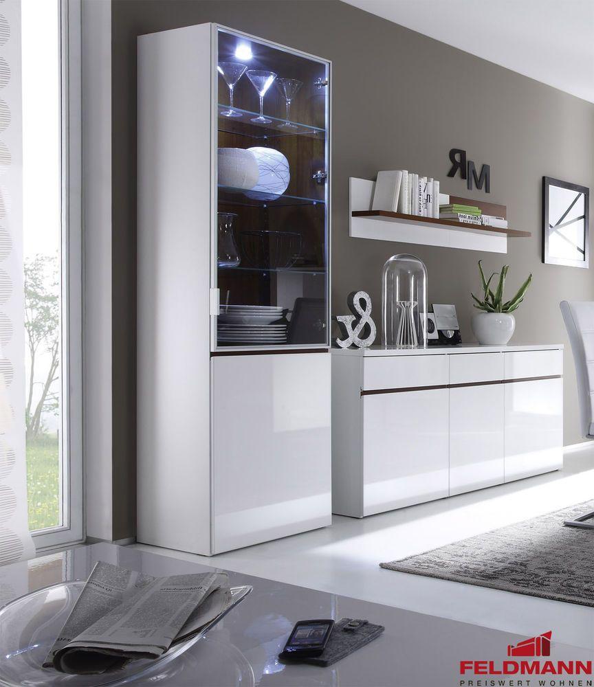 Modern Living Room Display Cabinet Showcase High Gloss White Cognac New 4108 Living Room Furniture Uk Living Room Display Cabinet Kitchen Room Design