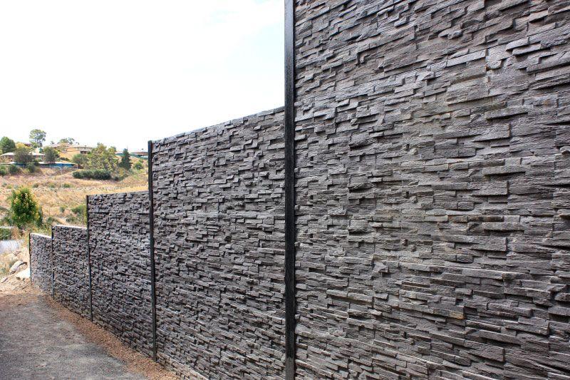 Kensington Sleepers Retaining Wall Concrete Sleeper Retaining Walls Sleeper Retaining Wall Retaining Wall