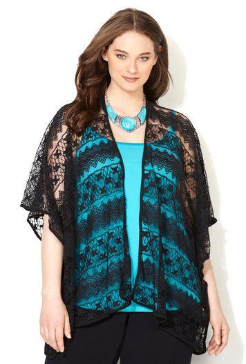 LACE KIMONO VS K0151, Black | Wardrobe Inspiration | Pinterest ...