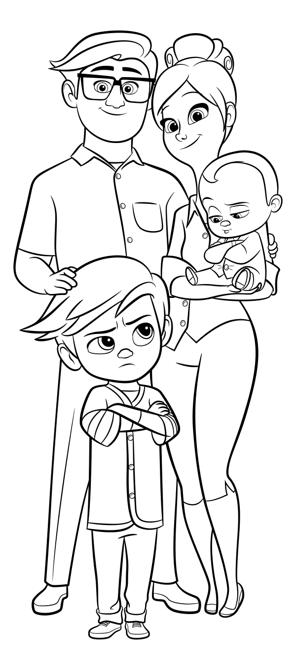 Boss Baby Coloring Pages Best Coloring Pages For Kids Baby Coloring Pages Coloring Books Coloring Pages