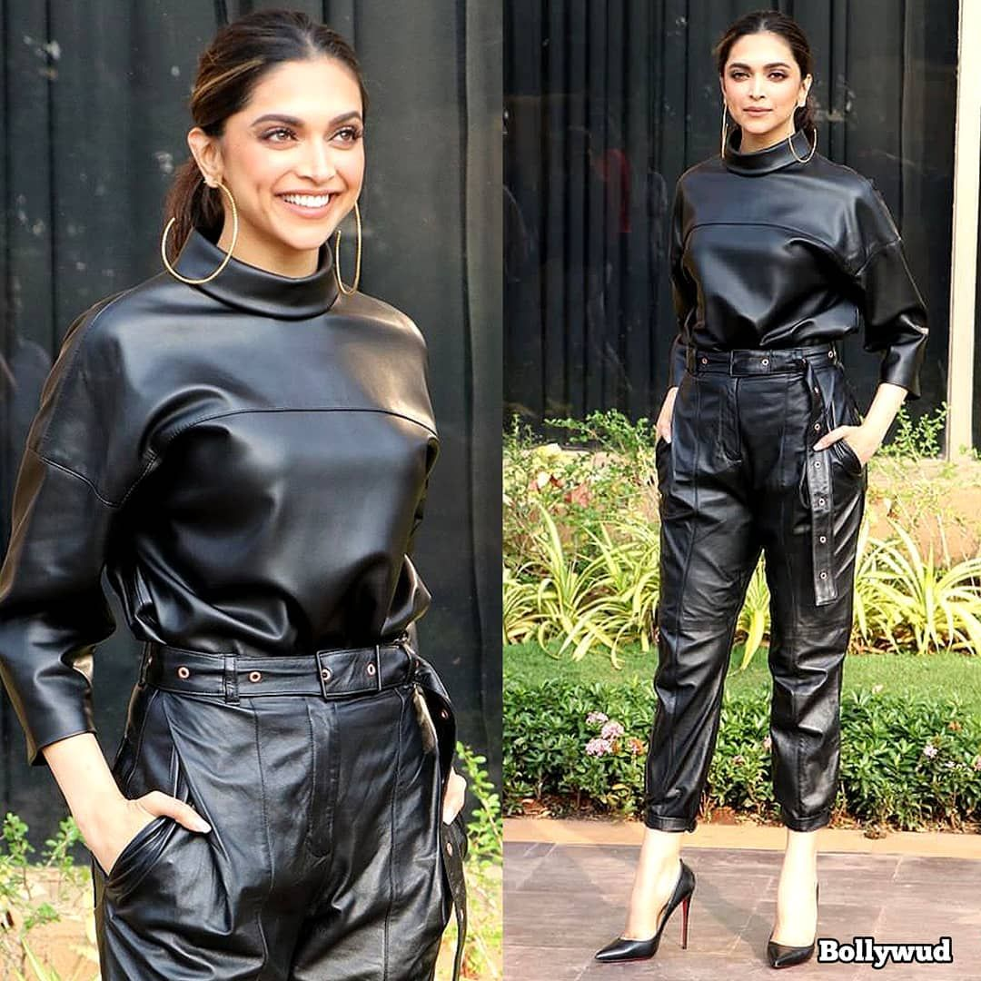 Deepika Padukone Is All Smiles As She Heads Out On A Promotional Spree For Chhapaak - HungryBoo