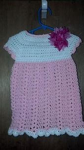 Ravelry: Little Cutie Baby Dress pattern by Er Eroglu