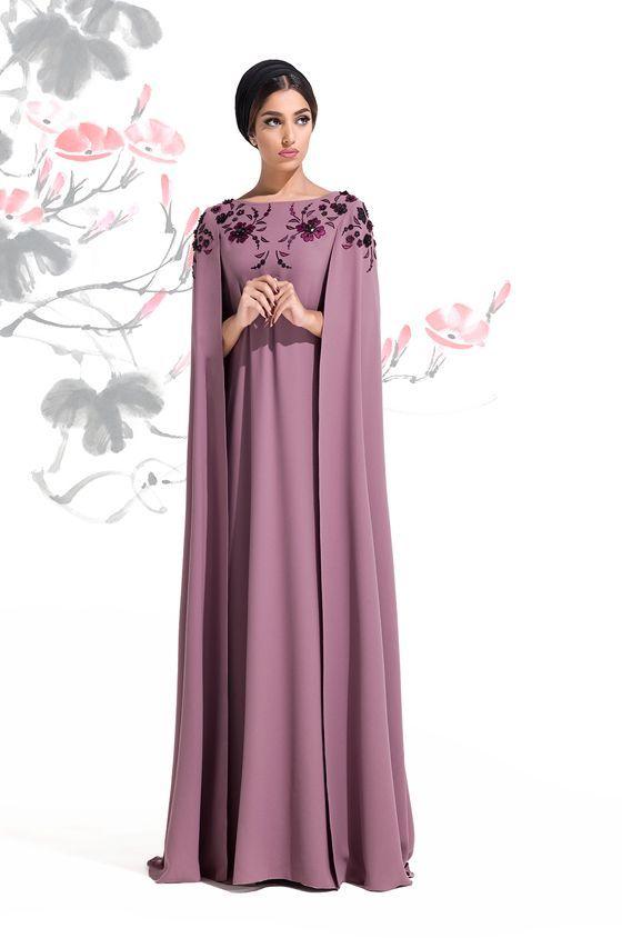 8adbfa8474bc Luxury Cape Style functional look Abaya – Girls Hijab Style   Hijab ...