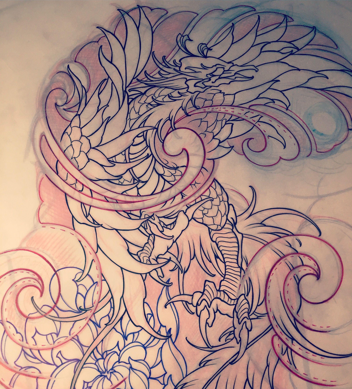 Amsterdam tattoo 1825 kimihito phoenix japanese tattoo