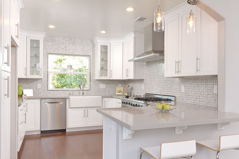 Kerrie Kelly Design Lab Gorgeous In Gray Kitchen With