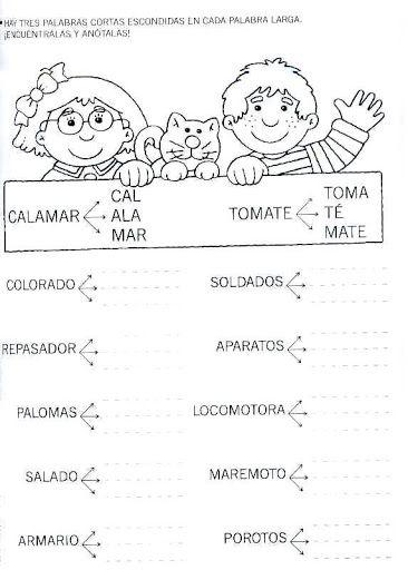 pintar y jugar: actividades para preescolar | Lectoescritura ...