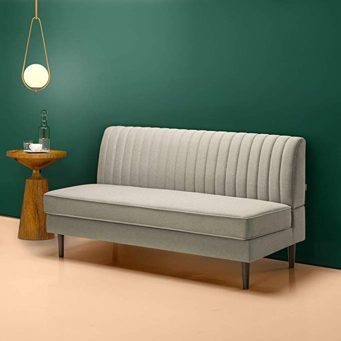 Superb Amazon Com Zinus Jocelyn Contemporary 65 Inch Armless Sofa Forskolin Free Trial Chair Design Images Forskolin Free Trialorg