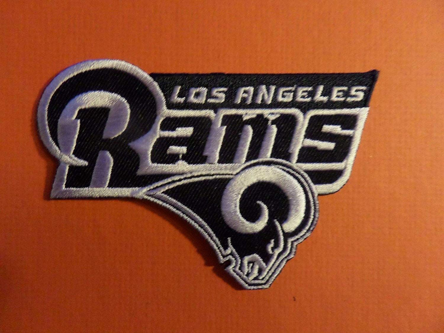 10 10 Los Angeles Rams Nfl Embroidered Iron On 2 7 8 X 4 1 4 Patch Arts Crafts Sewing Sewing Crafts Electronics Gadgets