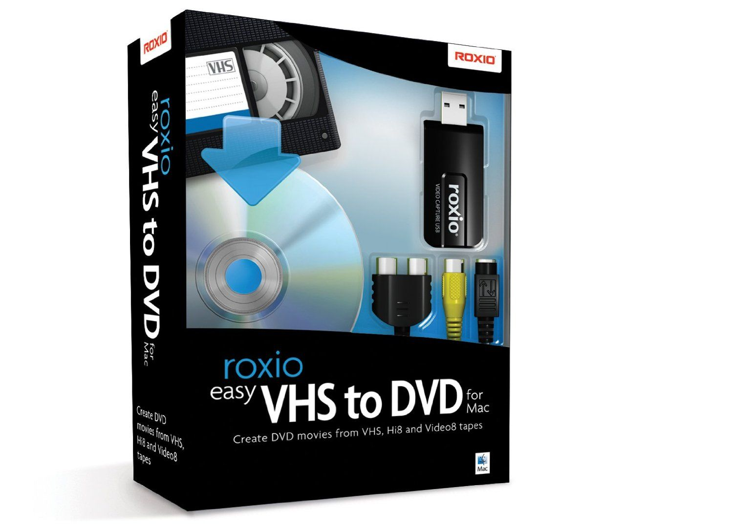 Amazon com: Roxio Easy VHS to DVD for Mac | Products I Love | Vhs to