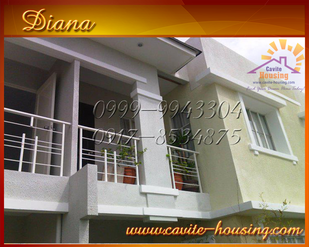 DIANA HOUSE MODEL (Cavite Houses / House and Lot for Sale in ...