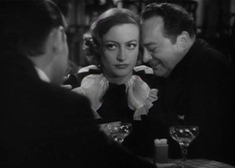 Joan Crawford and Edward Arnold in Sadie McKee