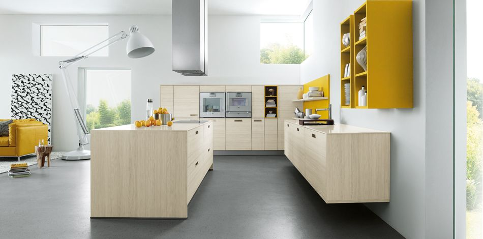 NX 120 Natural Larch   West London Kitchens