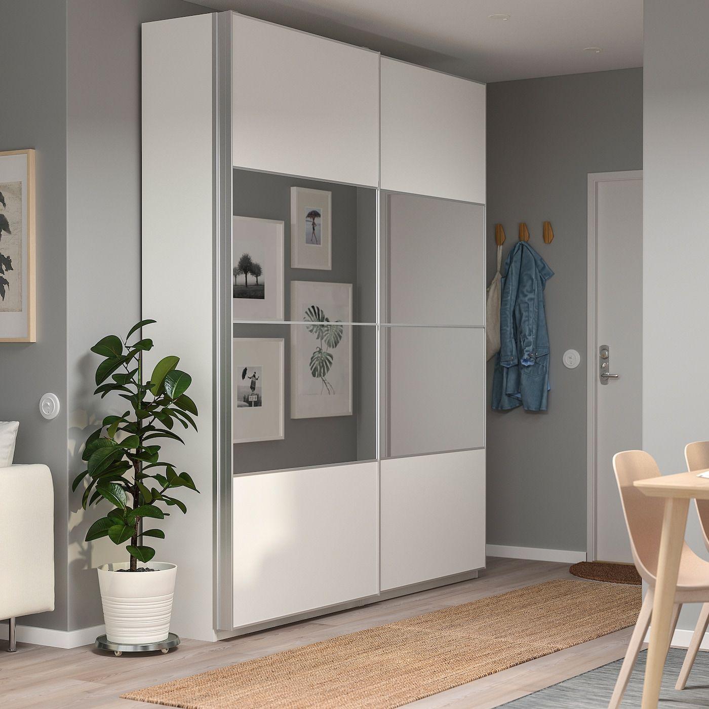 IKEA PAX Wardrobe white, Mehamn Auli in 2020 Pax