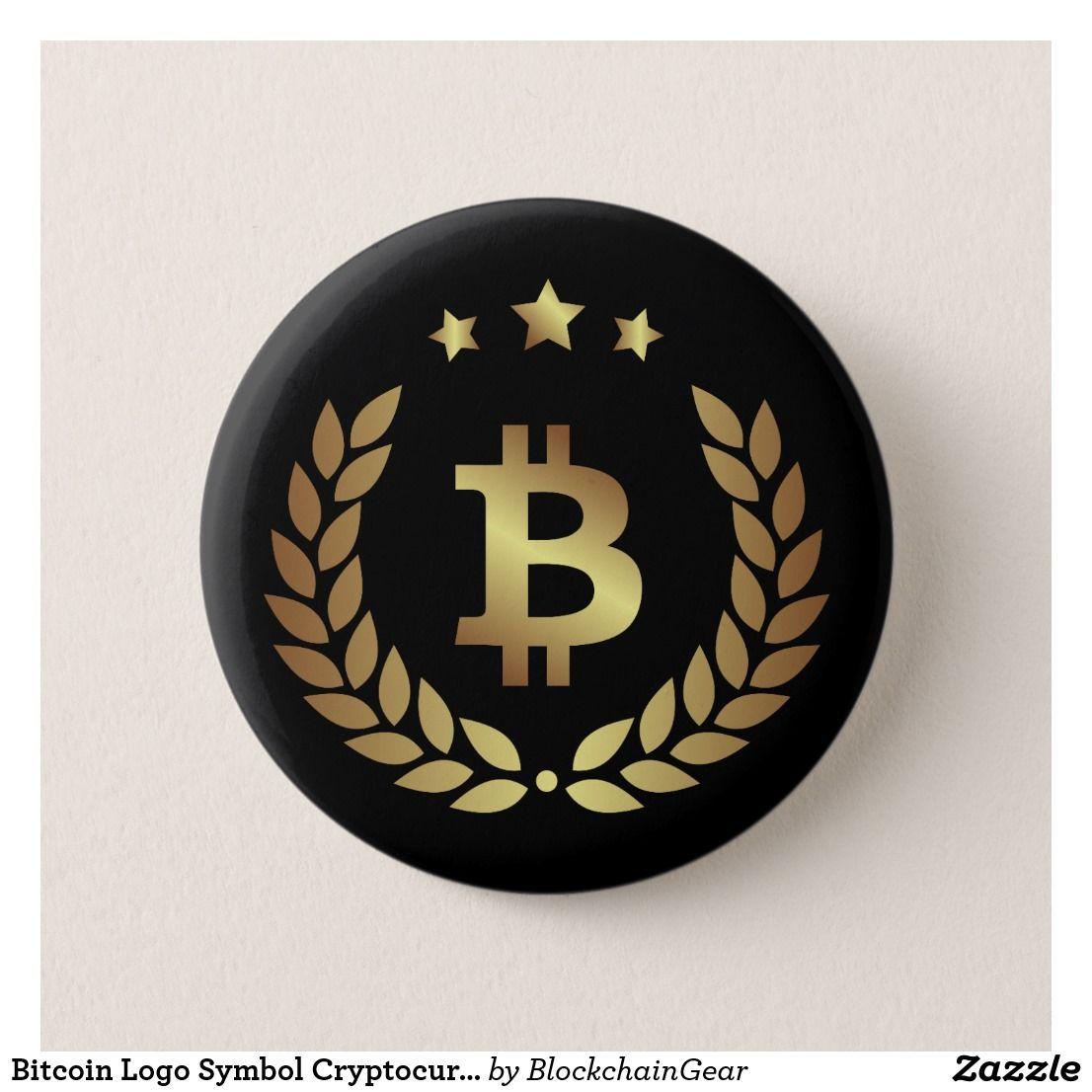 Bitcoin Logo Symbol Cryptocurrency Crypto Button - Bitcoin logo, Bitcoin, Logo gifts - 웹