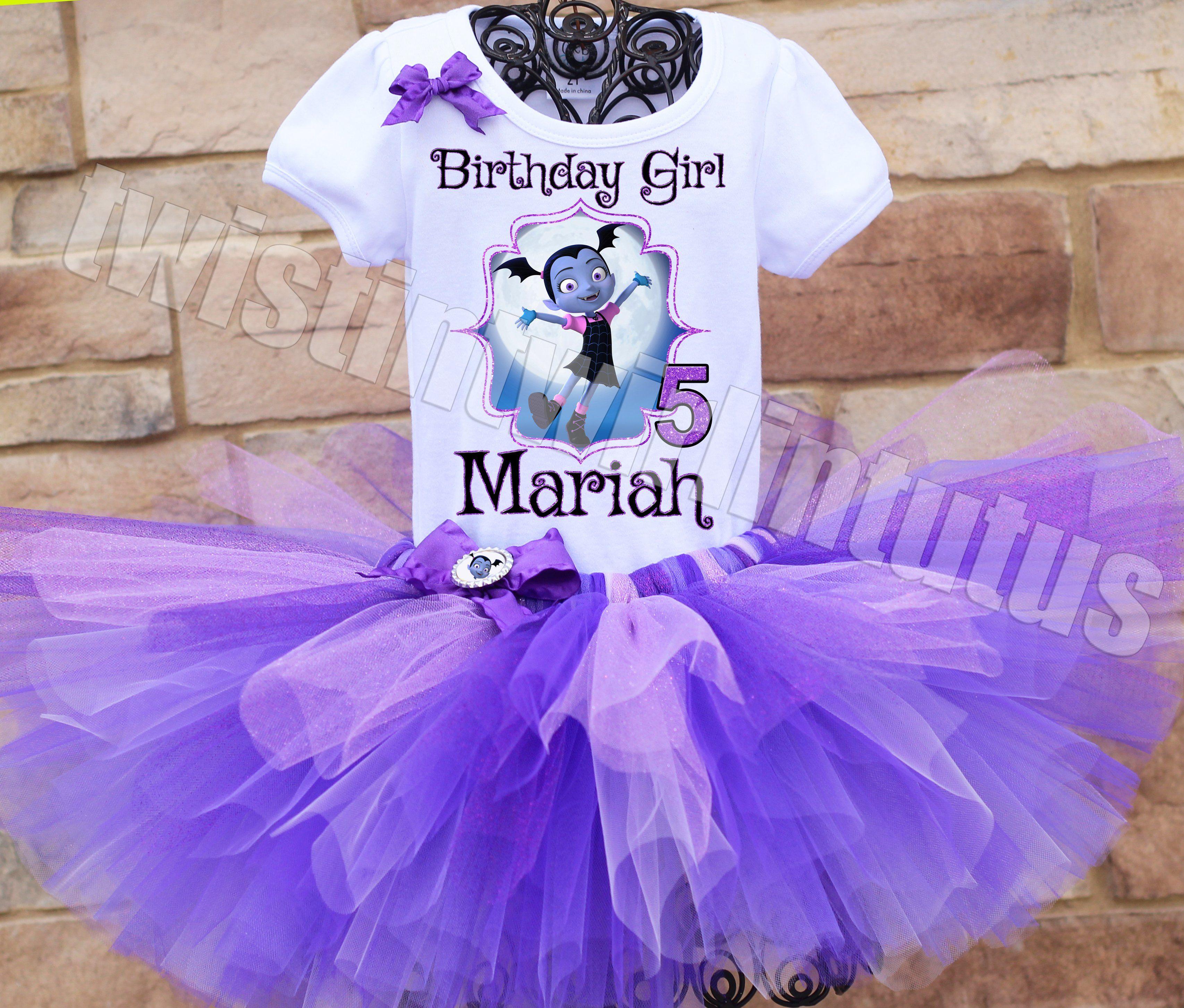 Vampirina Birthday Tutu Outfit | Birthday party ideas ...