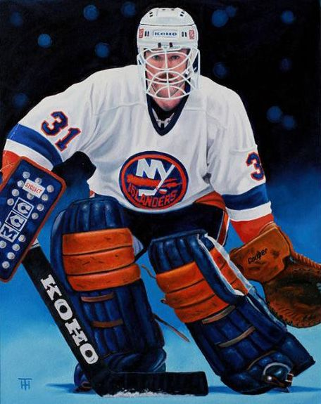 Billy Smith New York Islanders Sport Hockey New York Islanders National Hockey League