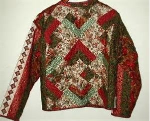 Image result for Strip Quilted Sweatshirt Jacket Pattern | Quilted ... : quilted sweatshirt jacket - Adamdwight.com