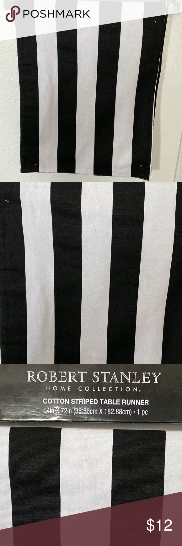 Cotton Striped Table Runner Striped Table Striped Table Runner Table Runners