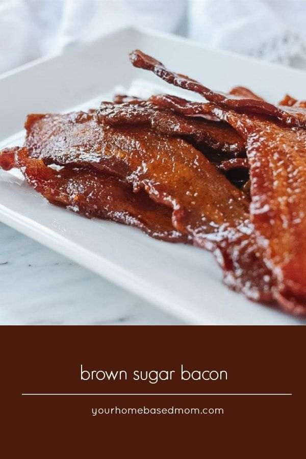 Brown Sugar bacon is an out of this world breakfast treat. The combination of carmelized brown suga