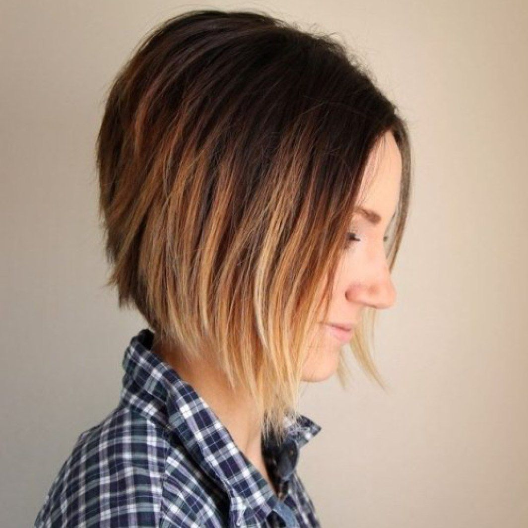 38 Pretty Short Ombre Hair You Should Not Miss Styles Weekly Short Ombre Hair Hair Styles Short Hair Styles
