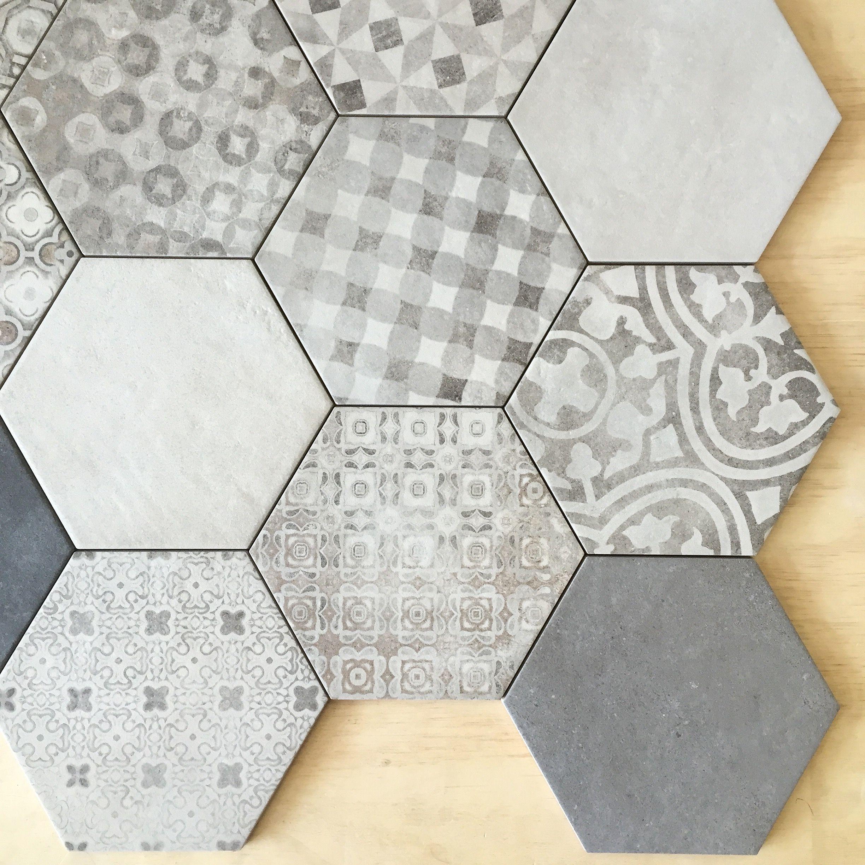 Colour Block + Pattern Blend #tiles