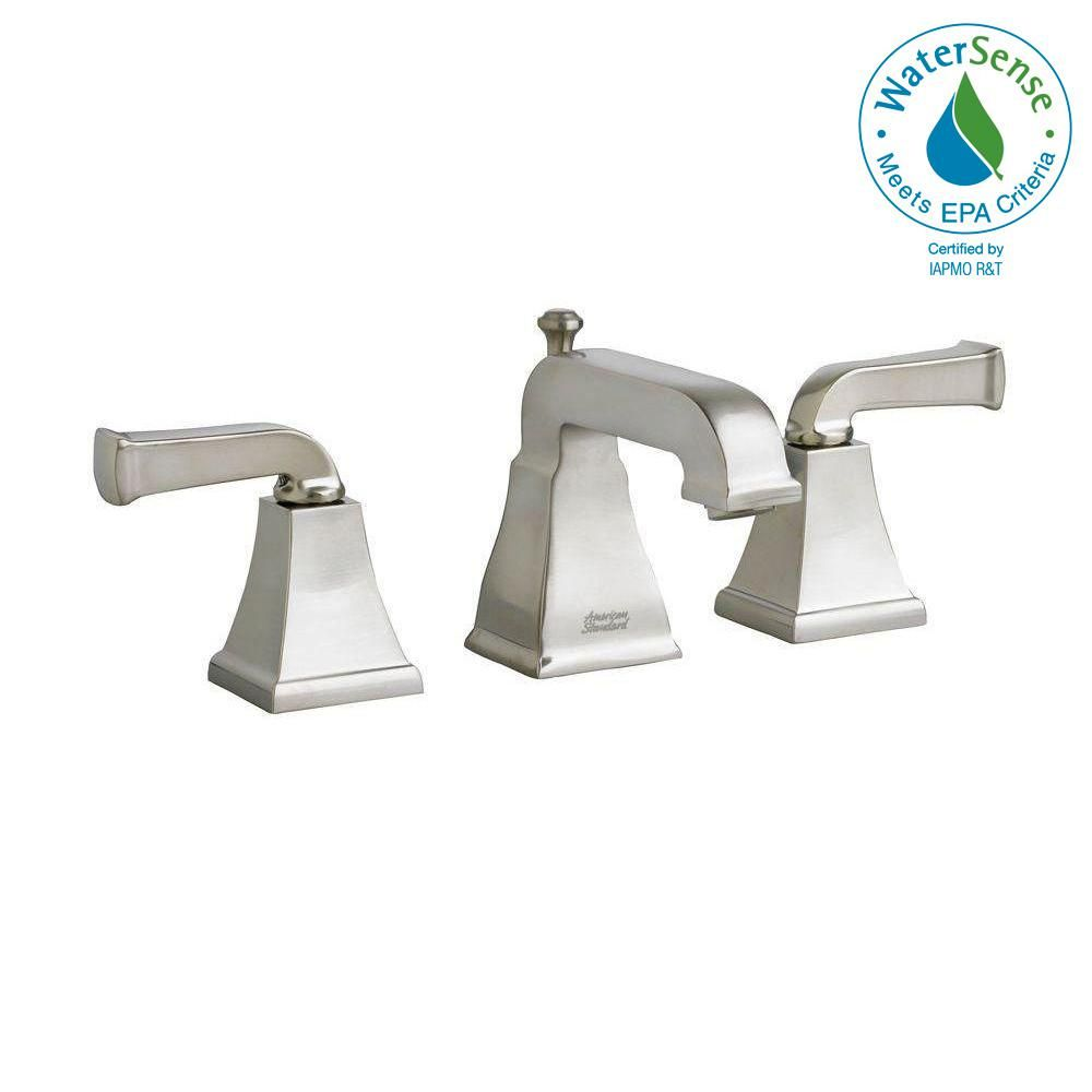 American Standard Town Square Curved Lever 8 In Widespread 2