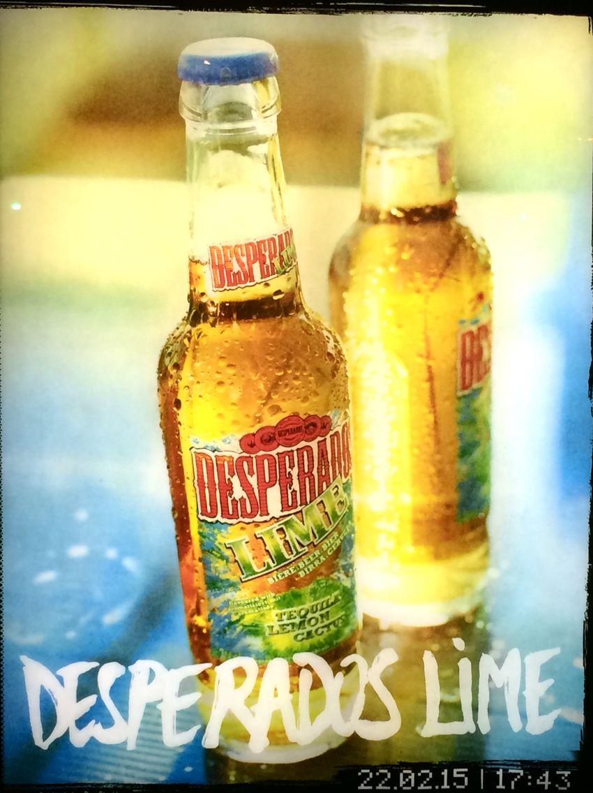 Desperados Lime Alcool Biere Panneau Publicitaire