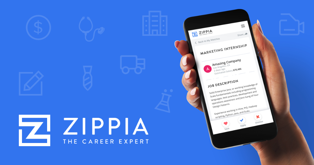 Zippia helps you find new career options and land a job