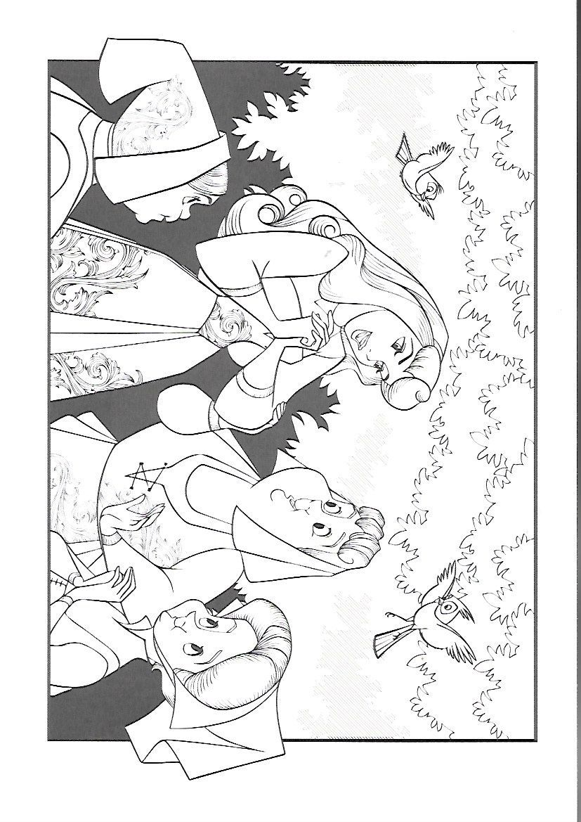 Coloring pages by Jessie Whitmer in 2020 | Disney coloring ...
