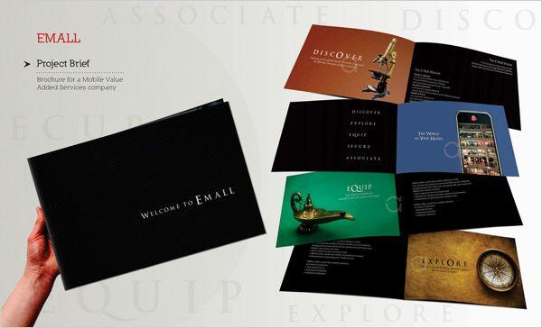 Brochure design for Mobile value added company 20+ New Beautiful - brochure design idea example