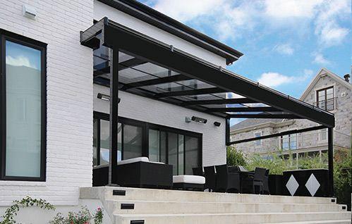 Auvent zytco terrasse pinterest auvents ext rieur for Auvent maison moderne
