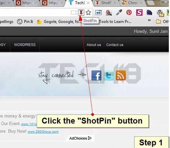 How To Send Webpage Screenshot To Pinterest Instantly Webpage Pinterest Diy Videos Tutorial