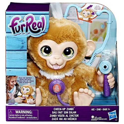 Hurry Over To Amazon And Get A Deal On This Furreal Check Up Zandi