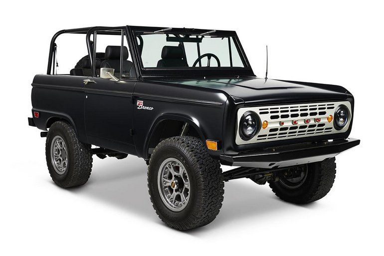1968 Ford Bronco ICON Coyote BR Series Restoration | Ford ...