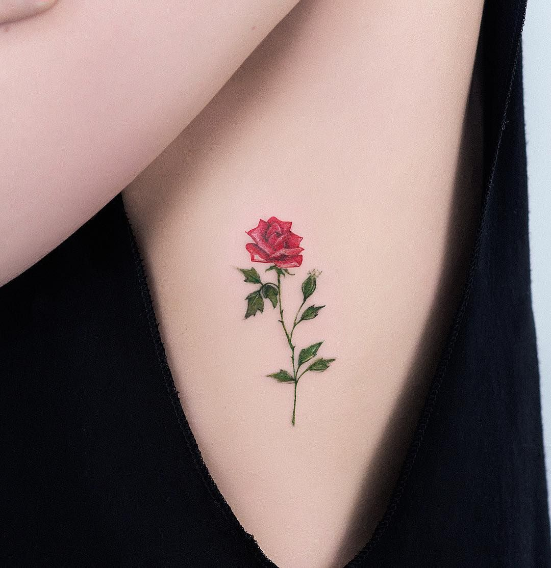 These Tiny Rose Tattoo Ideas Are All The Inspiration You Ll Need For Your Next Ink Tattoos Tiny Rose Tattoos Tattoos For Women