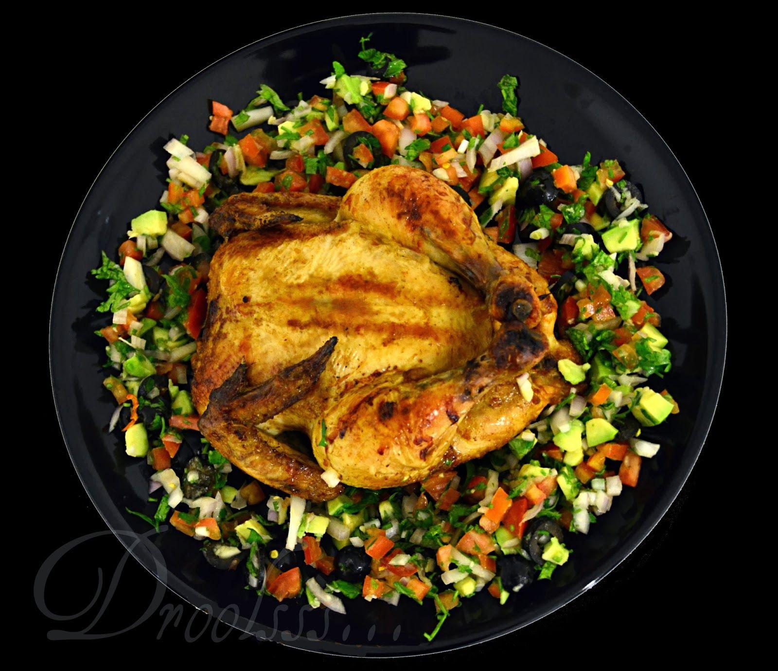 Droolsss . . .: Orange Mustard Roasted Chicken