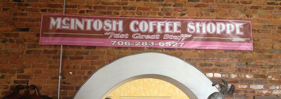 Mcintosh Coffee Shoppe Elberton Ga Georgia Elbertonga Shoplocal Localga Elberton Georgia Coffee Coffee Cups