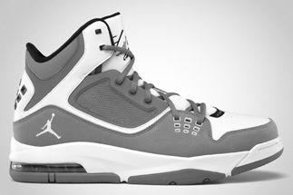 quality design e4e0b 29d22 Jordan Flight 23 RST – Cool Grey White BLACK