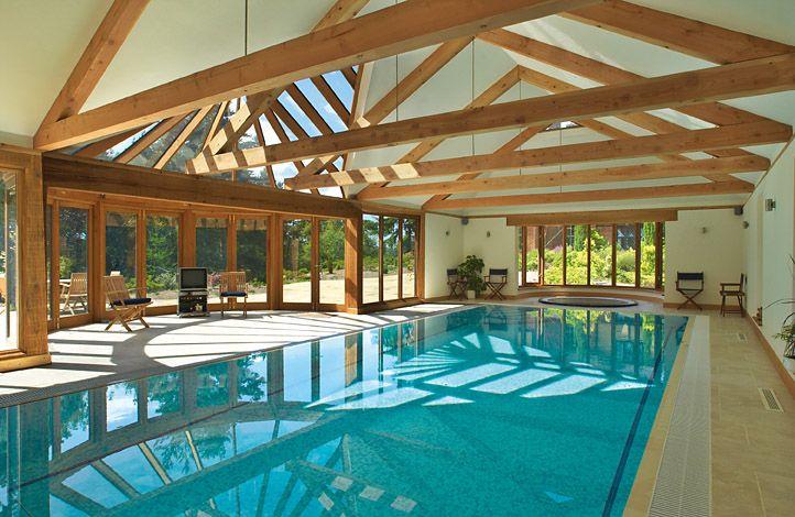 Barn Style Indoor Swimming Pool Swimming Pool House Pool Houses