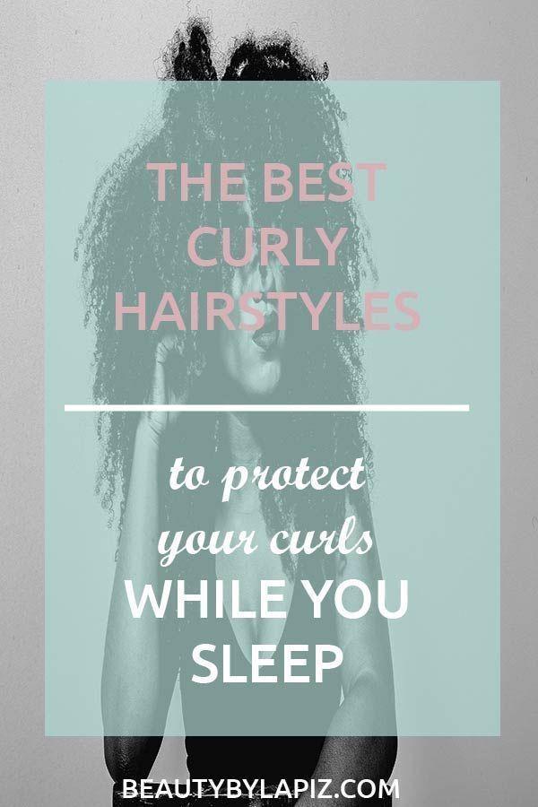 Lockige Frisuren zum Schlafen die Ihre Locken nicht ruinieren  Lockige Frisuren zum Schlafen die Ihre Locken nicht ruinieren