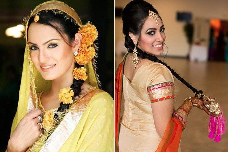 Punjabi Hairstyle Punjabi Hairstyles Hair Styles Cool Hairstyles